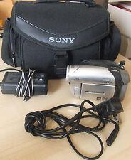 Sony DCR-DVD92E Mini DVD RW Handycam Touch Screen Camcorder & Accs