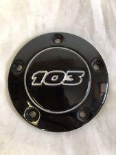 harley davidson timercover schwarz glänzend 103