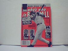 WHO'S WHO IN BASEBALL 2008