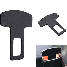 1Pcs Black Car Accessories Safety Seat Belt Buckle Alarm Stopper Eliminator Clip