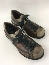 GBX Mens 8 1/2 Brown Athletic Hiking Sneakers Shoes   F7