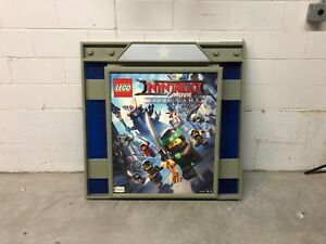 Toys R Us R Zone VIDEO GAME Sign HOLDER NINTENDO LEGO Video Games SCARCE CASES