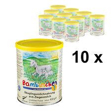 Bambinchen 1 - Babynahrung bis 6 Mon. 10x400g