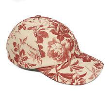 GUCCI 408793 Linen Herbarium Baseball Cap S
