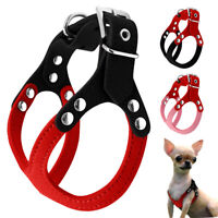 Extra Small Puppy Small Dog Harness Soft Vest Pet Collar Cat chihuahua Yorkie