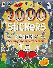2000 Stickers Spooky: 36 Freaky and Creepy Activities! by Parragon Books Ltd (Paperback, 2016)