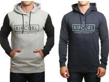 Rip Curl Men Corp Bloc Pullover Fleece Hoodie Surf Sweatshirt Jumper Top SZ S-XL