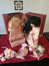 New listingLeonardo collection porcelain doll carmen with other outfits boxed never removed