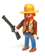 Playmobil Figure Adventure Jungle Explorer Animal Vest Hat Rifle Knife 3016