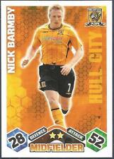 TOPPS MATCH ATTAX 2009-10-HULL CITY-NICK BARBY