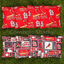 Cornhole Bean Bags Set of 8 ACA Regulation Bags St Louis Cardinals Free Shipping