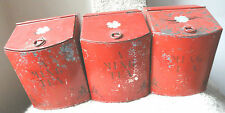 Vintage Occupied Janpan Set of 3 Tea Tin Containers