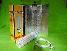 Elektrox Set 200 W flower Blüte Energiesparlampe + Reflektor + Kabel ESL 2700K
