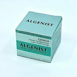 Algenist Genius Ultimate Anti-Aging Cream  Large 2 oz / 60 ml  NEW in box