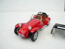 Anson 1/18 Scale Diecast - 30317-W Lotus Super Seven 1957-73 Caterham red