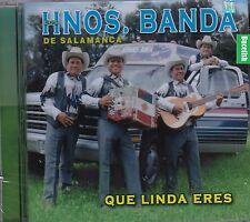 Los Hermanos Banda de Salamanca Que Linda Eres CD New Nuevo Sealed