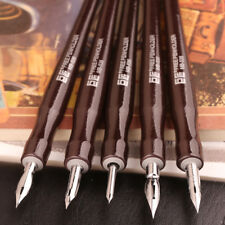 Japan TACHIKAWA Dip Pen Set Professional Comics Dip Pens 5 Holders/Nibs