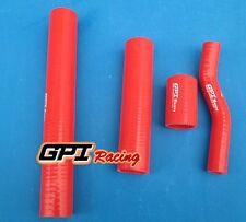 RED silicone radiator hose FOR Suzuki GT750 GT 750