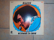 Elvis Presley-Almost In Love LP Album