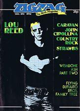 ZigZag 52 Lou Reed Caravan Wishbone Cipollina Strawbs