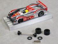 HO Slot Car Parts  MEGA-G Hop-Up Kit #2  O-Ring Front Set, Super Tires, Magnets