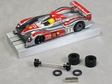 Ho Slot Car Parts Mega-G+ Hop-Up Kit O-Ring Axle Set, Super Tires, L42 Magnets