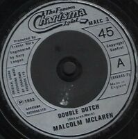 "MALCOLM MCLAREN double dutch 7"" WS EX/ uk charisma MALC3"