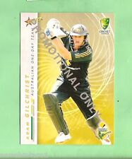 2007  CRICKET  PROMOTIONAL CARD - ADAM GILCHRIST