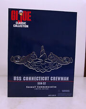"GI Joe US Navy 12"" Classic Collection 1/6 scale USS Connecticut Seawolf Crewman"