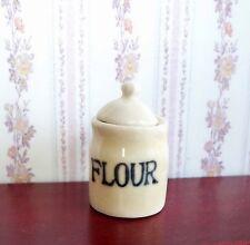 1:12  Miniatur Vorratsdose MEHL - Puppenhaus - Neu