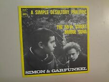 "SIMON & GARFUNKEL:A Simple Desultory Philippic-59th St-Holland 7"" 67 CBS2626 PSL"