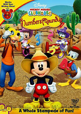 Disney Mickey Mouse Clubhouse Numbers Roundup Kids Fun Educational Counting DVD