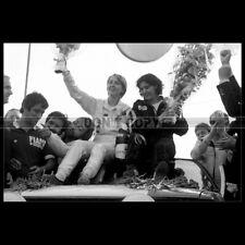 Photo A.033508 MICHELE MOUTON FABRIZIA PONS AUDI QUATTRO SAN REMO RALLY 1981