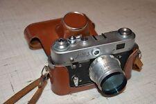 FED-3 Russian Rangefinder 35mm Camera