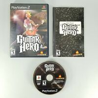 Guitar Hero (Sony Playstation 2, PS2, 2005) Complete with Manual CIB