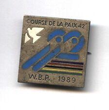 cycling badge Course de la Paix 1989 - POLAND - Peace race - dove of peace