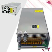 Motor Switching Power Supply with Adjustable Voltage Current Display 1000W DC