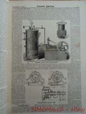 1875 Ward B Snyder Little Giant Steam Engine Marsden Railway Ballasting Machine