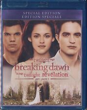 The Twilight Saga: Breaking Dawn - Part 1 (Blu-ray Disc, 2012, Canadian) NEW