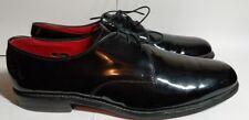 ALLEN EDMONDS Black Patent Leather SPENCER Lace Up Formal Tuxedo Shoes Sz 11.5 B