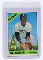 Joe Morgan ORIGINAL Vintage 1966 Topps Card #195 Astros