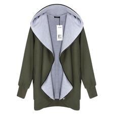ACEVOG Frauen Mode lässig Cardigan Langarm solide Quaste langen Mantel joce