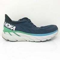Hoka One One Mens Clifton 7 1110508 MOAN Moonlit Ocean Running Shoes Size 9.5