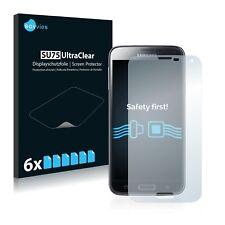 6x Displayschutzfolie Samsung Galaxy S5 Duos LTE SM-G900FD Schutzfolie Klar