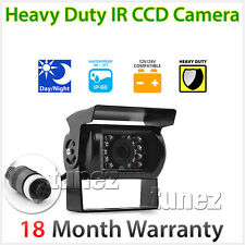 4pin Heavy Duty 12v 24v CCD IR Colour Reverse Reversing Camera Parking Rear View