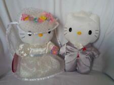HELLO KITTY DEAR DANIEL Sweetheart Wedding Set Plush Dolls - Sanrio 1976,1999