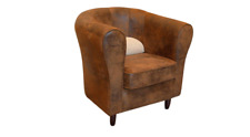 Dining Room Chair 1 Seat Armchair Wood Luxury Class Furniture Design Lehn New