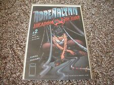 """Adrenalynn #2 """"Weapon Of War"""" Aug 1999 Nm/Mt First Printing"""