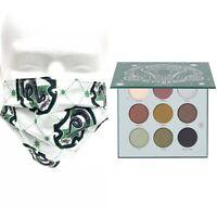 Harry Potter X Ulta Beauty Slytherin Eyeshadow Palette + Face Cotton Mask NEW