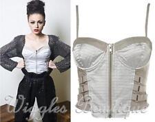 Clubwear Cotton Blend Spaghetti Strap Solid Women's Tops & Blouses